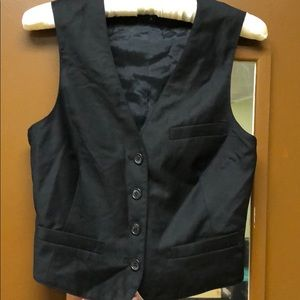 Vest.  Fully lined